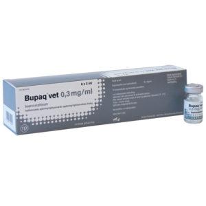 Bupaq vet - buprenorphinum - 6 x 2 ml