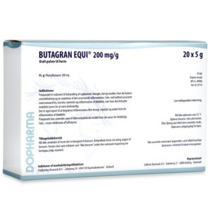 Butagran Equi - phenylbutazon - 20 x 5 g