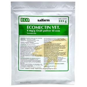 Ecomectin Vet - Oral Powder - ivermectin - 333 g