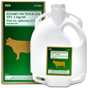 Ecomectin Pour On Vet - ivermectin - 1 liter