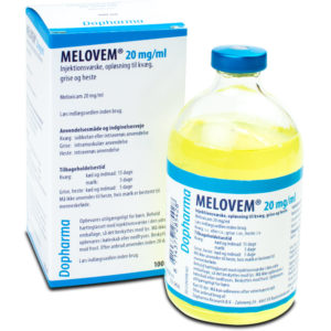 Melovem - Meloxicam 20 mg/ml - 100 ml