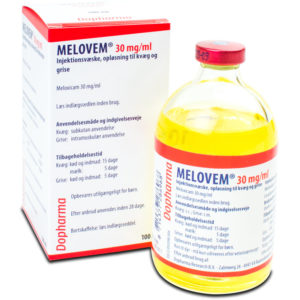 Melovem - Meloxicam 30 mg/ml - 100 ml