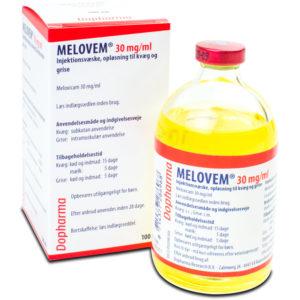 Melovem - Meloxicam 30 mg/ml - 100 ml