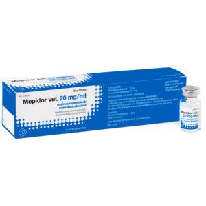 Mepidor - mepivacain - 6 x 10 ml