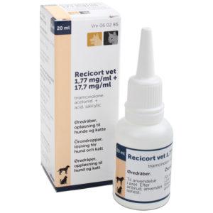 Recicort - triamcinolone. acetonid + acid. salicylic. - 1 x 20 ml